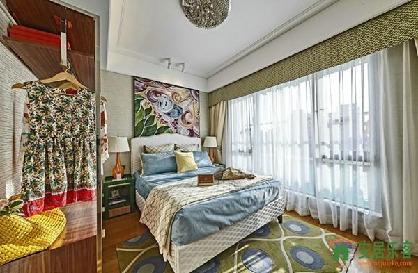 东南亚风格卧室装修效果图