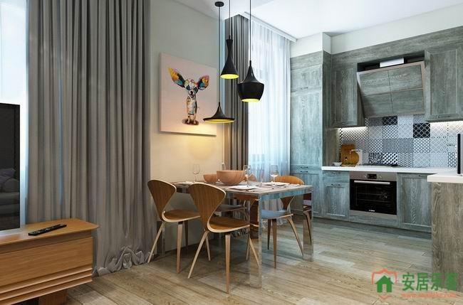 融科东南海欧式风格新房装修设计