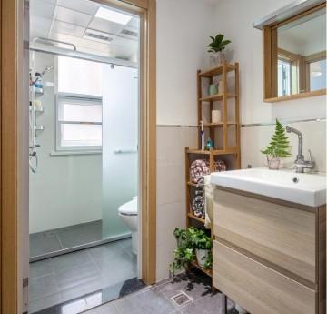 干湿分区和三分离改造,洗、厕、浴