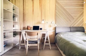 158平米四居中式创意风格装修效果图