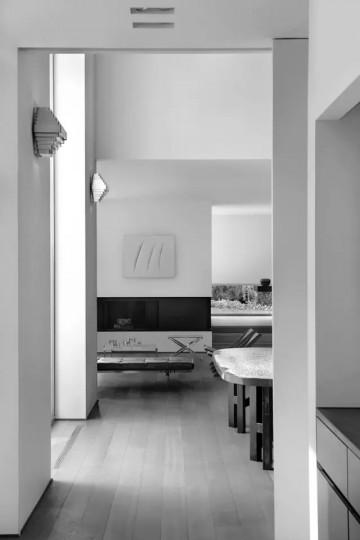 98平米二居中式创意装修效果图