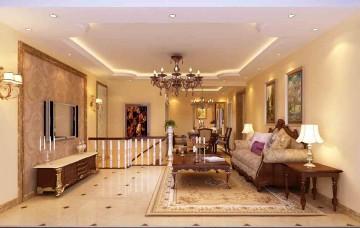 二室一厅中式风格装修效果图