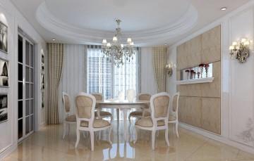 四室二厅美式风格装修效果图