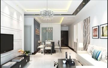 118平三室一厅欧式风格装修效果图