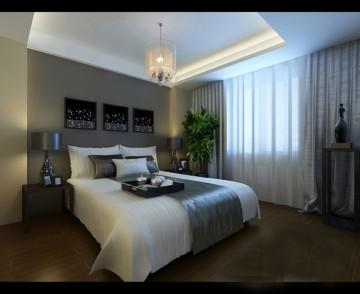 四室二厅现代风格装修效果图