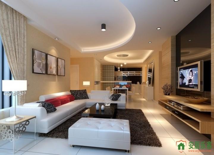 青浦区高档公寓装修效果图