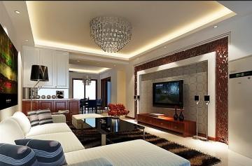 150平四室二厅现代风格装修效果图