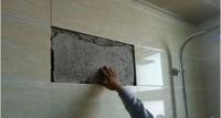 上海装修瓷砖脱落该如何处理?