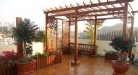 房屋装修_顶层花架面积的计算及打造花架的价格